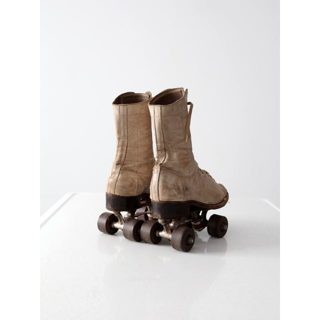 Image of 1940s Chicago Roller Skates with Case