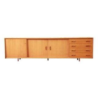 Danish Modern Teak Wood Credenza