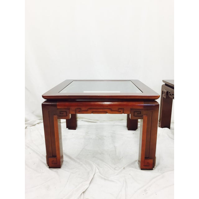 Vintage Asian Ming Style Side Tables - A Pair - Image 7 of 10