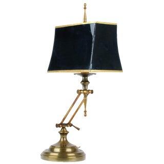 Ethan Allen Articulating Brass Lamp