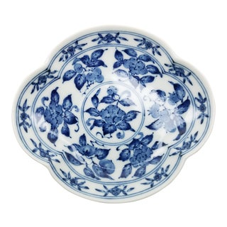 Blue & White Japanese Trinket Dish