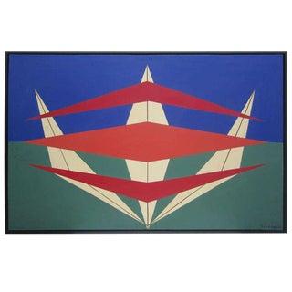 Herbert Busemann Abstract Geometric Painting