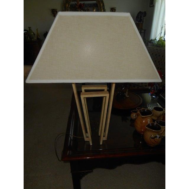 Image of Custom Designer Handcrafted Metal Table Lamp