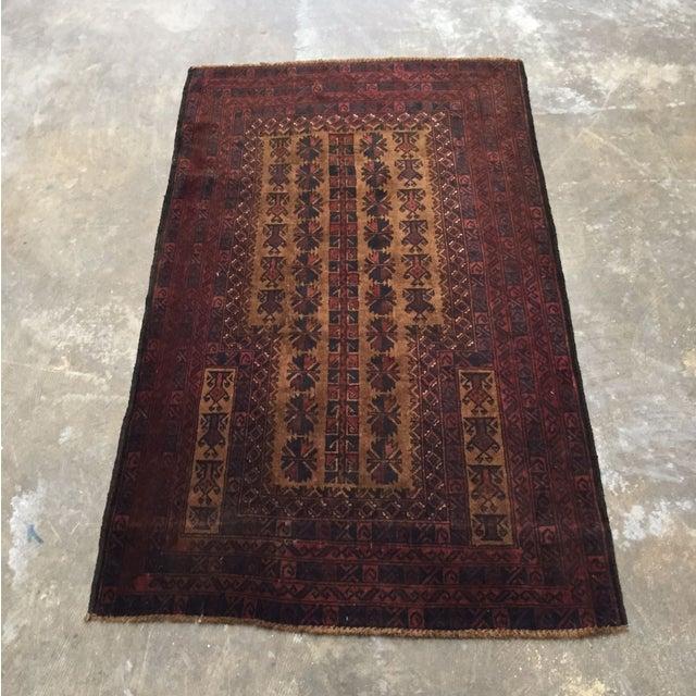 Vintage Persian Rug - 3' x 5' - Image 2 of 8