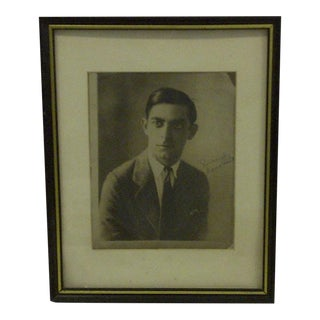 1930s Vintage Black & White Signed Photograph