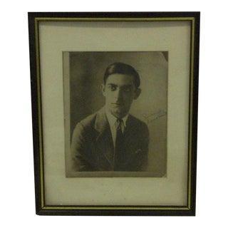 1930s Vintage Black & White Signed Photograph
