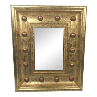 Gold Gilt Frame With Ball Details