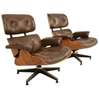 Eames 670 Lounge Chairs for Herman Miller - A Pair