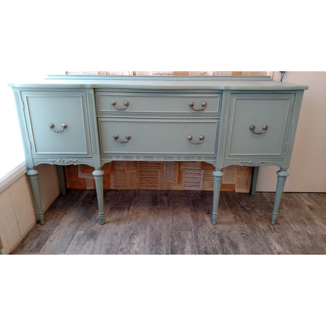 Refinished Vintage French Provincial Buffet - Image 2 of 6
