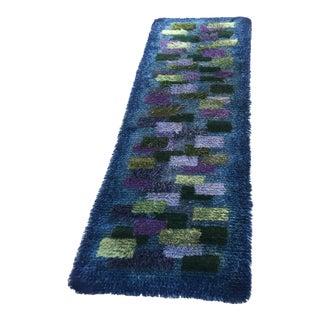 Handmade Wool Knotted Runner - 1′10″ × 4′11″