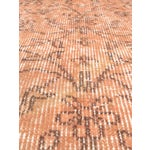 "Image of Vintage Peach Turkish Over-Dyed Rug - 3'5"" X 6'4"""