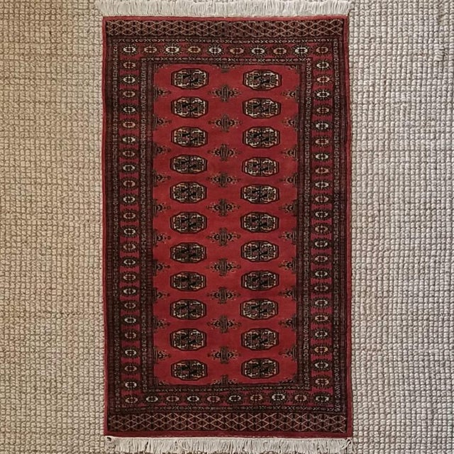 Vintage Hand Woven Persian Rug - 3′ × 5′7″ - Image 2 of 7