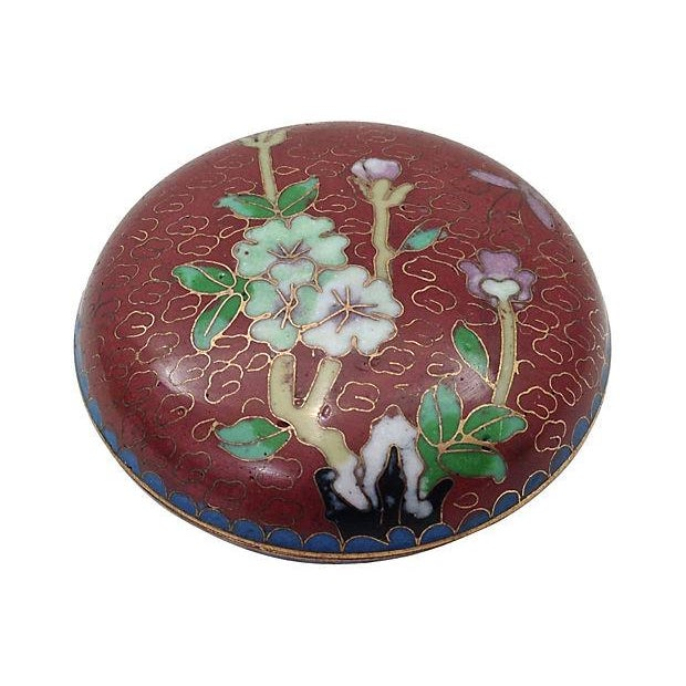 Image of Jadeite Snuff Bottle & Cloisonné Box