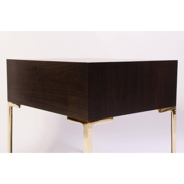 Astor Nightstands in Contrasting Ebony & Ivory by Montage - Image 6 of 10