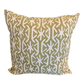 Thibaut Green Rinca Accent Pillow