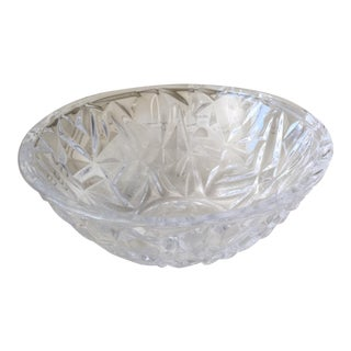 Tiffany Clear Crystal Bowl