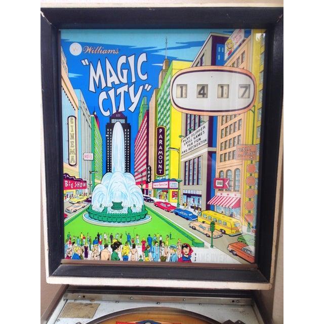 Mid-Century Williams Magic City Pinball Machine - Image 3 of 10