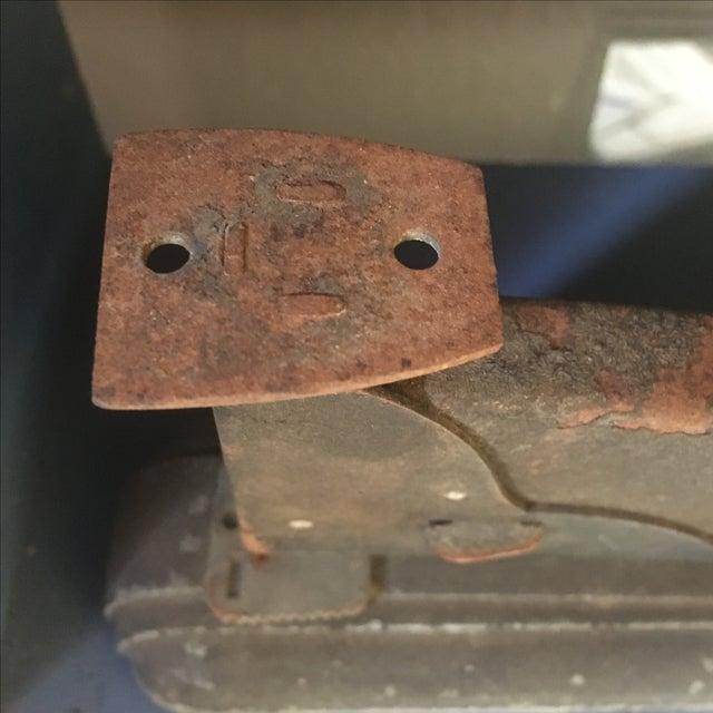 Vintage Industrial Rusty Stapler - Image 5 of 7