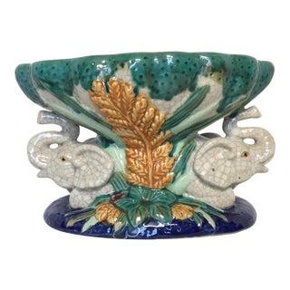 Vintage Ceramic Elephant Bowl