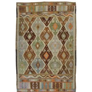 Vintage Barak Kilim | 5'5 x 8'2 Turkish Flatweave