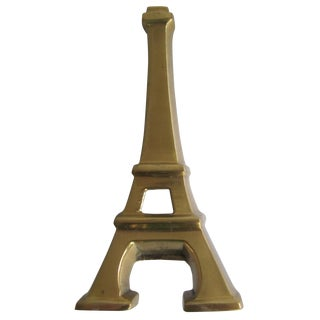 Brass Eiffel Tower Bottle Opener