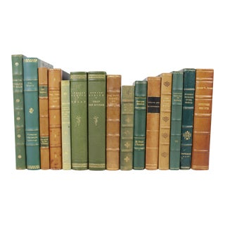 Scandinavian Leather Bound Books - S/15
