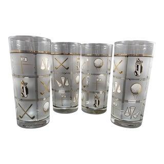 Culver Vintage Glasses - Set of 4