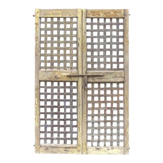 Gujrat Lattice Doors - A Pair