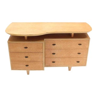 Unusual Mid-Century Modern Floating Top Dresser