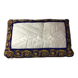 Versace Silk Pillow Cover
