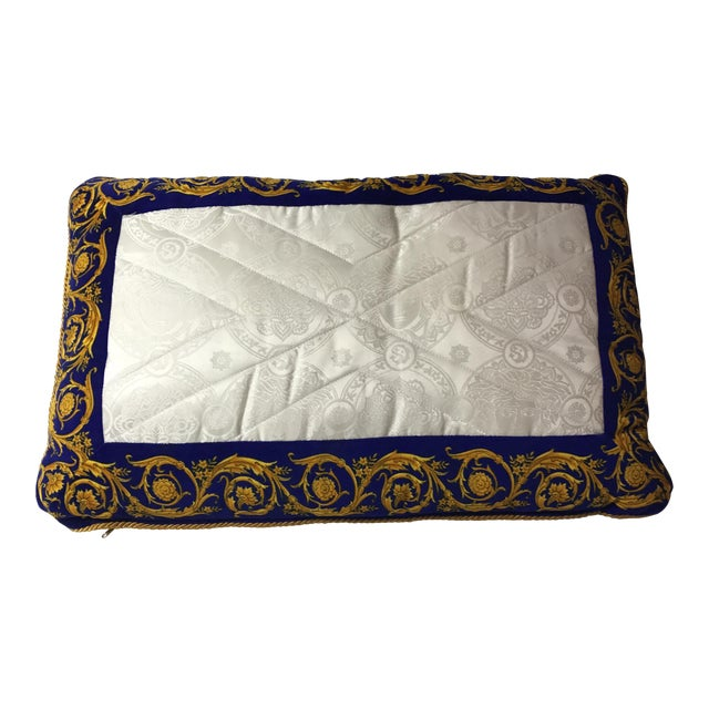 Versace Silk Pillow Cover - Image 1 of 7