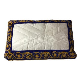 Versace Silk Pillow Cover