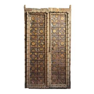 Antique Metal Work Indian Doors