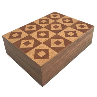 Solid Wood Tile Box
