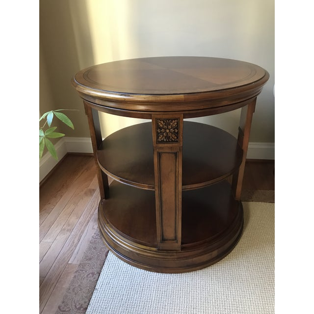 Ethan Allen Seaver Library Table Chairish