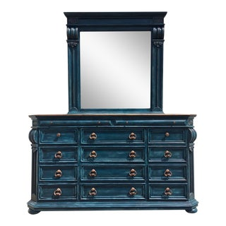 Fourteen Drawer Dresser