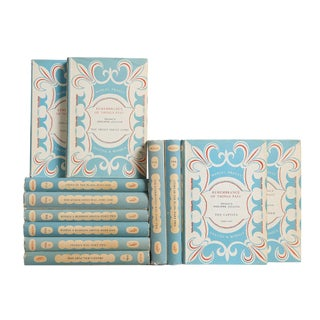 Powder Blue & Pearl Books: Works of Marcel Proust, S/12