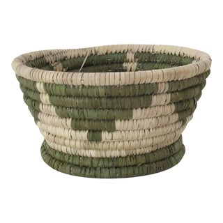 Olive Triangles Catchall Basket