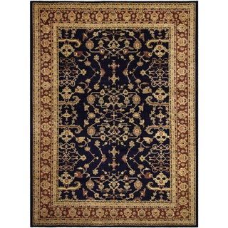 Kafkaz Peshawar Cherly Blue/Red Wool Rug - 12'0 X 16'1