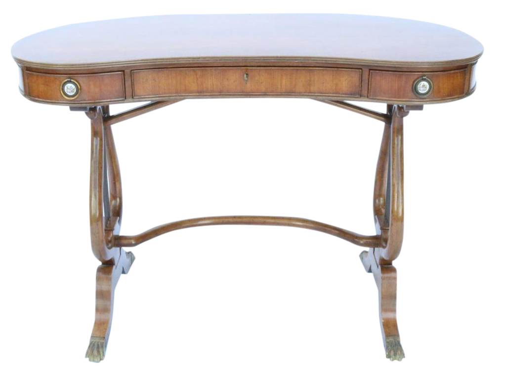 A Regency Style Fruitwood Lyre Writing Desk Chairish : a regency style fruitwood lyre writing desk 4861aspectfitampwidth640ampheight640 from www.chairish.com size 640 x 640 jpeg 22kB