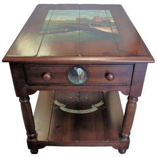 "St. Andrews ""Ireland"" Golf Club Side Table"
