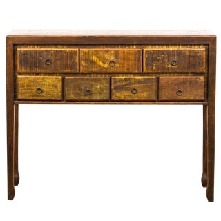 Handmade Reclaimed Solid Wood - High Console Table