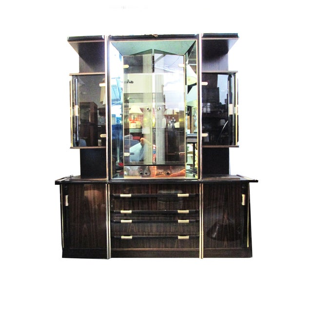 Entertainment Bar & Mivox Stereo Hutch - Image 1 of 10