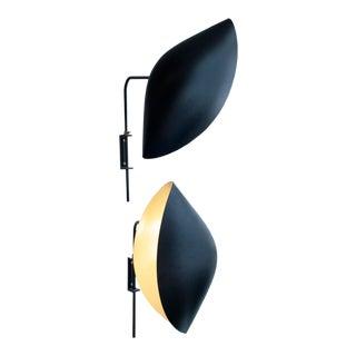 Serge Mouille Design Wall Light - A Pair