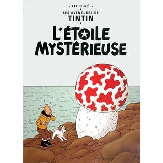 Herge-Les Aventures de Tintin: L'Etoile Mysterieuse-Poster