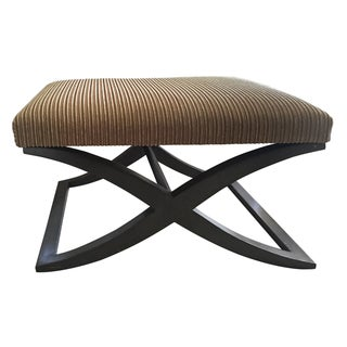 Upholstered Tac Stool by Portico, New York