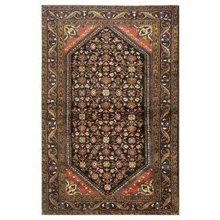 "Antique Persian Hamedan Rug - 4'6"" x 6'11"""