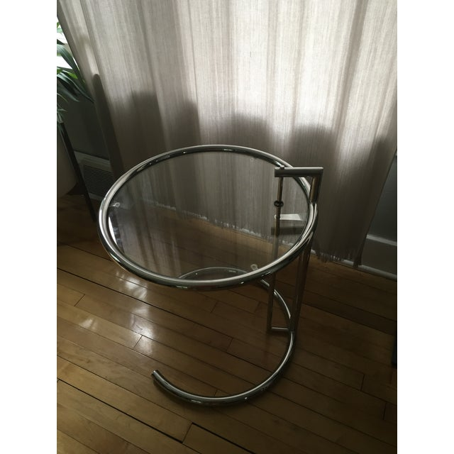 Eileen Gray Chrome Table - Image 2 of 3