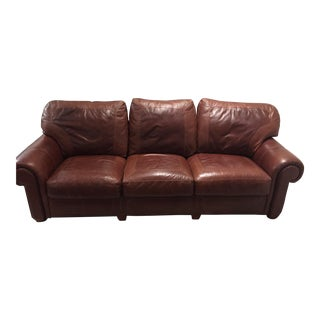 Stickley Santa Fe Leather Sofa