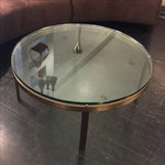 Image of Bronzed Steel Coffee Table by Nicos Zographos